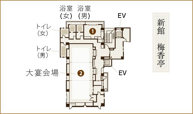 割烹旅館二葉 3階